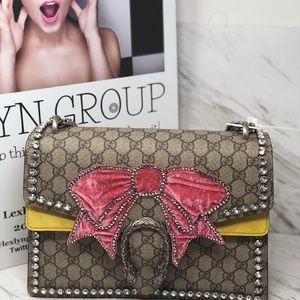 2bbffc35ec6c Gucci Bags | Dionysus Crystals With Bow Shoulder Bag | Poshmark